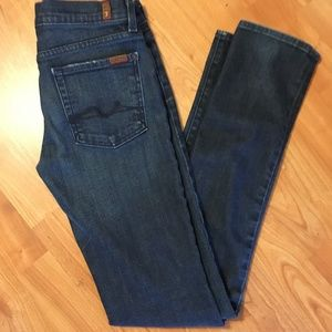 7 For All Mankind Roxanne Skinny Jeans 27